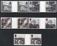 GB MNH 1994 SG1795-1799 THE AGE OF STEAM GUTTER PAIRS