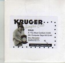 (DJ168) Evils, You Must Conform - DJ CD