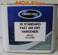 Churchill Hardener / Activator For 2K Car Lacquer & Paint 2.5 Litre Fast Air Dry