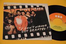 """FRANK ZAPPA 7"""" 45 (NO LP )I DON'T WANNA..1°ST ORIG ITALY 1980 EX"""