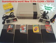 Nintendo NES Console System Bundle NEW PINS Game Super Mario 1 2 3 Double Dragon