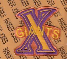 CUBAN X GIANTS NEGRO LEAGUES Professional Baseball 3.5 inch patch