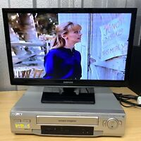 SONY SLV-SE210 VHS/VCR Video Cassette Player/Recorder *Tested & Working*