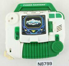 MMPR Power Rangers Lost Galaxy Navigator Gun Green Works!