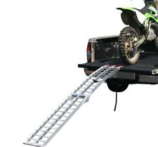 1x Aluminium Alloy Folding Loading Ramp Ladder for ATV Quad Dirt Bike Motorcycle