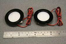 2 x 12v Black Recessed Spot Lights Campervan Downlights Motorhome,Cool White LED