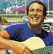 O sole mio Italienische Folklore mit Gino CD ( 12 Track ) 1987