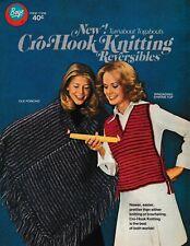 Cro-Hook Knitting Reversibles | Boye 7696