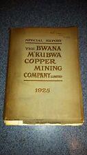 The Bwana M'kubwa copper mining company