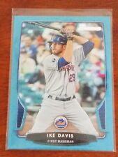 Ike Davis 2013 Bowman Blue #72 serial numbered 313/500