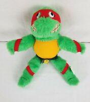 """Vtg Teenage Mutant Ninja Turtles RAPHAEL 9"""" Plush Stuffed Toy ACE 1989"""