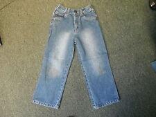 "ENRG Straight Jeans Waist 22"" Leg 18"" Faded Dark Blue Boys 5/6 Yrs Jeans"