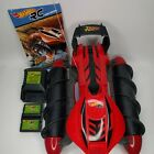 Tyco Hot Wheels RC Red Terrain Twister With Remote, Batteries & Charger Works!