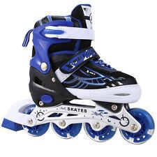 Boys Girls Roller Blades Inline Skates Adjustable Size Pro Skating Fun Gift