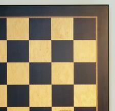 """CHESSBOARD - 23½"""" - 2½"""" SQ's - MADRONA BURL INLAID WOOD - CLASSIC (ww 65600bm)"""