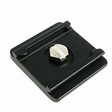 Quick Release Mounting Plate Camera Tripod 1/4in thread compatible w/ most DSLR