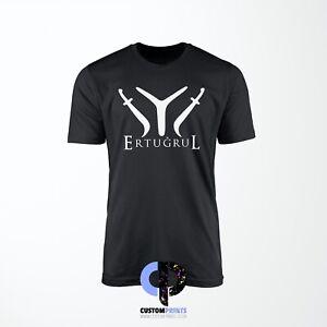 Custom Kids Ertugrul Swords T Shirt In Various Sizes