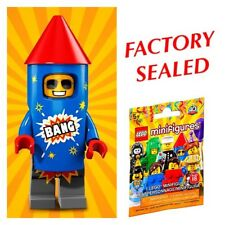 LEGO FIREWORKS GUY ~ Factory Sealed Series 18 Minifigure 4TH OF JULY