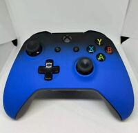 New Custom Wireless Microsoft Xbox One Blue Shadow Controller w/ 3.5mm Jack