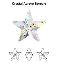 Swarovski 4745 Star 10 Mm Crystal AB ( for 1 Pair)