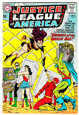 JUSTICE LEAGUE OF AMERICA #23 (VG/FN) Wonder Woman! Flash! Aquaman! DC 1963 LQQK