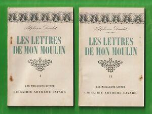 """Les Lettres de mon Moulin T1&2/ A. Daudet -A. Fayard """"Les Meilleurs Livres"""" 1947"""