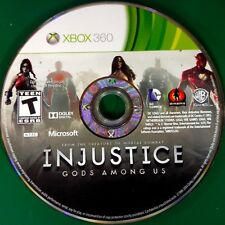 Injustice: Gods Among Us (Microsoft Xbox 360, 2013) Disc Only # 14705