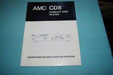 AMC CB8 Manual
