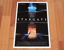 ORIGINAL MOVIE POSTER STARGATE 1994 INTERNATIONAL DOUBLE-SIDED ONE-SHEET