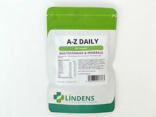 LINDENS A - Z DAILY MULTI VITAMIN / MINERAL 90 TABLETS HEALTH SUPPLEMENT UK MADE