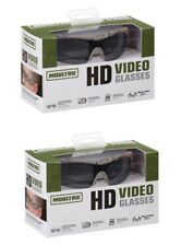 2 Pair of Moultrie Hd Camera Video Shooting Hunting Fishing Sun Glasses GoPro