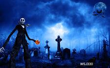 LB Halloween thin vinyl Backdrop Photography Props Photo Background 7X5FT WSJ330