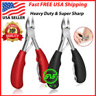 Toenail Clippers for Thick Ingrown Toe Nails Heavy Duty Precision Finger Nail