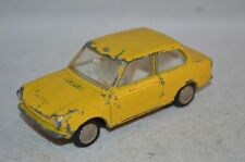 Lion Car DAF 44 Variomatic yellow in all original condition made in Holland