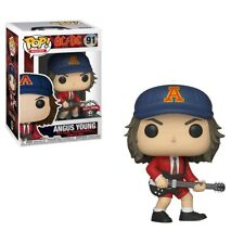 AC/DC - Angus Young Red Jacket & Blue Hat Exclusive Pop! Vinyl Figure 91