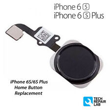 NEW iPhone 6S Plus Complete Home Button Flex Cable Replacement w/Gasket - Black