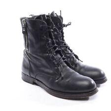 MOMA Stiefeletten Gr. EUR 39 Schwarz Damen Schuhe Boots Shoes Leder Leather