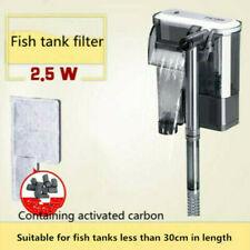 Aquarium filter submersible pump small external hanging filter XP-03B 2.5W 160LH