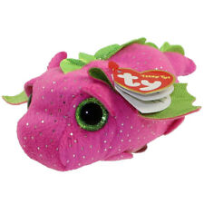 TY Beanie Boos - Teeny Tys Stackable Plush - DARBY the Dragon (4 inch) - New