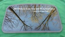 2005 MERCURY SABLE YEAR SPECIFIC  SUNROOF GLASS OEM NO ACCIDENT!  FREE SHIPPING!