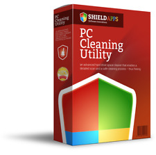 PC Cleaning Utility, Computer, Internet 1 User-12 Month License