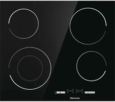HISENSE E6432C Electric Ceramic Hob - Black - Currys
