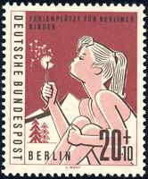 BERLIN 1960, MiNr. 195 II, postfrisch, II. Wahl, gepr. Schlegel, Mi. -,-