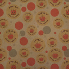 Apple-y Happily Ever After Funny Humor Kraft Gift Wrap Wrapping Paper Roll