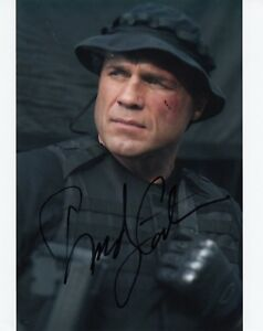 RANDY COUTURE SIGNED EXPENDABLES AUTHENTIC GUARANTEED 10 X 8 PHOTO  AFTAL #199