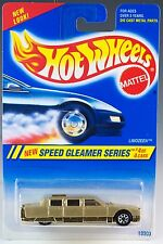 Hot Wheels No. 316 Speed Gleamer Series #4 Limozeen Gold w/7SP's 1995 New