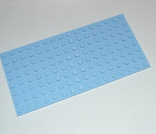 LEGO - LIGHT BLUE BUILDING PLATE 8X16 STUDS BASE BOARD / BASEPLATE MAT 92438