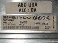 2003 2004 03 04 KIA RIO COMPUTER BRAIN ENGINE CONTROL ECU ECM MODULE UNIT