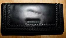 BILLABONG BRAND NEW LADIES BLACK CLASSIC LEATHER WALLET