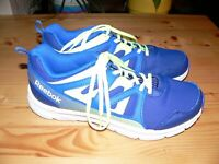 REEBOK BLUE ATHLETIC RUNNING TRAINING SHOES SNEAKERS YOUTH BOYS SIZE 6